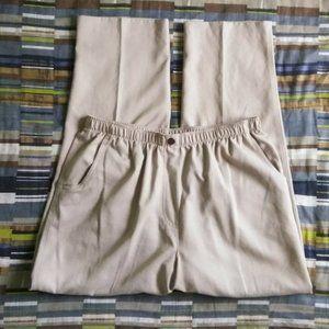 Alia Elastic Waist Pull On Pants